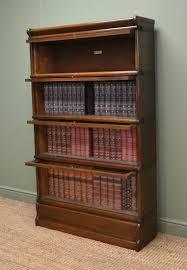 globe wernicke bookcase antiques world