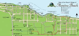 Map Of Western Canada by Manitou Map Of Manitou Beach Saskatchewan Canada