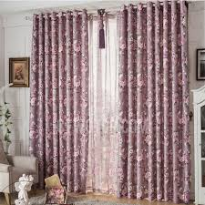 Purple Drapes Or Curtains European Country Bedroom Or Living Room Purple Drapes Curtains