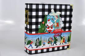 6x8 Album Christmas 6x8 Albums Echo Park Paper
