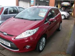 ford fiesta 1 4 titanium 3dr manual for sale in widnes horns car