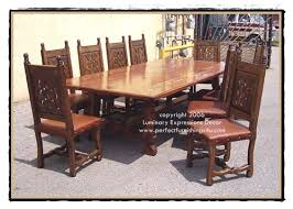 Interesting Colonial Dining Room Furniture With Cedar Wood On - Colonial dining room furniture