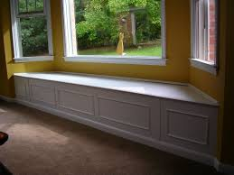 Window Seat Storage Bench Plans by Bay Window Bench Ideas U2013 Pollera Org