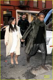 Kim Zolciak Kitchen by Kim Kardashian U0026 Kanye West Hold Hands At Abc Kitchen Photo