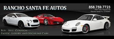 autos designen used cars for sale luxury exotiic rancho santa fe autos