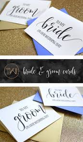 To My Bride On Our Wedding Day Card To My Bride On Our Wedding Day Card Bride Card Bride Gift