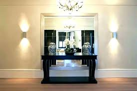entrance table and mirror entryway table and mirror set sofa table and mirror set full size of