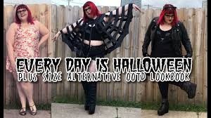 Size Gothic Halloween Costumes Halloween Size Alternative Ootd Lookbook