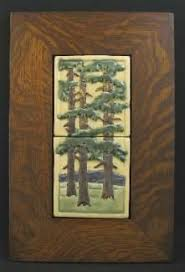 Motawi Tile Backsplash by A 12 Inch Square Limited Edition Pine Landscape Tile From Motawi