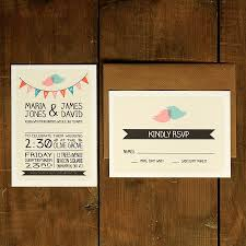 Invitation Reply Card Whimsical Lovebirds Wedding Invitation By Feel Good Wedding