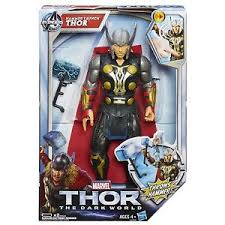 marvel thor 2 the dark world 10 electronic talking hammer launch
