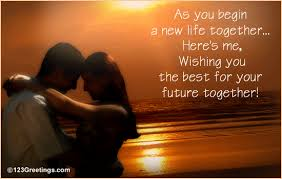 all the best for your future together free wishes ecards 123