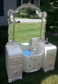 Vanity Tri County Mall Beautiful Waterfall Style Vintage Vanity Redone By Periwinkles9256