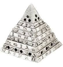 incense burner egyptian pyramid