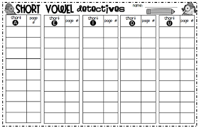 made for 1st grade short vowel review