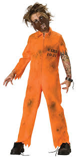 halloween inmate costume cell block psycho scary kids costume mr costumes