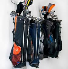 Garage Golf Bag Organizer - golf club organizer for garage home design ideas