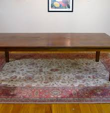 crate and barrel 104 u201d basque honey dining table ebth