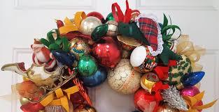 19 truly vintage antique glass ornament wreath glass