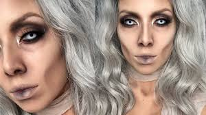 Glam Mummy Halloween Makeup Lustrelux Youtube