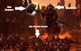 Ban Hammer Meme - total war warhammer memes thread page 5 total war forums