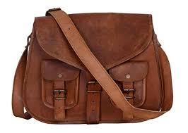 amazon com kpl 14 inch leather purse women shoulder bag crossbody