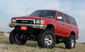 1987 toyota 4runner lift kit country 4wd toyota 4runner 4 5 lift kit nitro shocks 1990