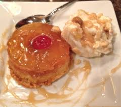 drunkened pineapple upside down cake with coconut macadamia nut