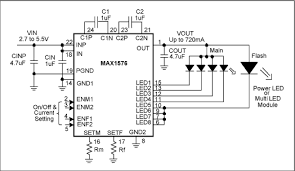 general pcb design layout guidelines circuit board layout guidelines for white led charge pumps