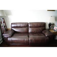 raymour and flanigan power recliner sofa raymour flanigan brown leather reclining sofa aptdeco