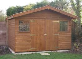 16 x 20 superior garden shed with apex roof plan free delivery