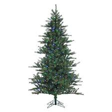 shop fraser hill farm 7 ft pre lit southern pine artificial