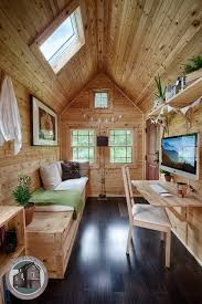 decor natural tennessee tiny homes with single wooden dining