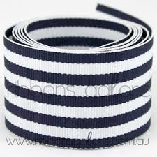 blue and white striped ribbon some favourite striped grosgrains are back in stock ribbons