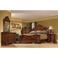 Deals On Bedroom Furniture by A R T Furniture Old World Queen Size 4 Piece Wood Estate Bedroom