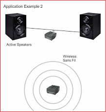 home theater wireless speakers amazon com ifinity wireless audio transmitter receiver for