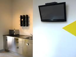 tv cuisine b b guesthouse in etienne living desk kitchen etoile
