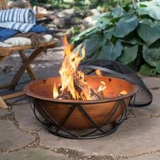 Wood Firepits Wood Burning Pits Hayneedle