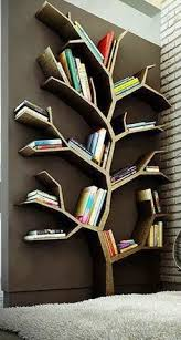 Cool Bookcase Ideas I Would Put A Whole Tree On My Wall Muse Pinterest Tree