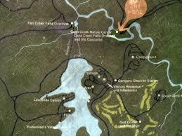 Fall Creek Falls Map Fall Creek Falls Aug 2004