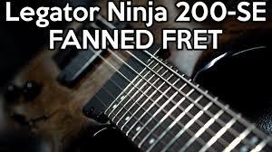 fanned fret 7 string legatorninja 200 se fanned fret 7 string spectresoundstudios demo