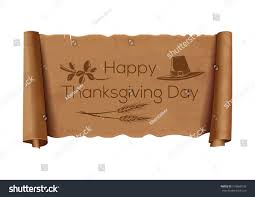 thanksgiving day design brown vintage curved stock vector