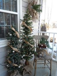 christmas trees decorated with ribbon beautiful tree gold for pics