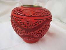 Cinnabar Vases Cinnabar Vase Ebay