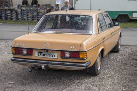 mercedes benz w123 by pelle