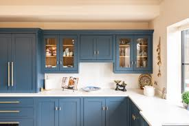 glass kitchen cabinet doors uk a look into glass fronted cabinets on a handmade kitchen