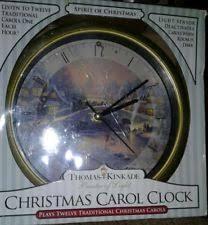 kinkade wall clocks ebay