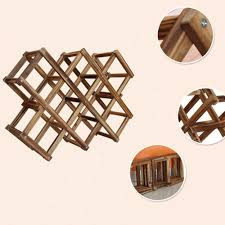 furniture solid wood wine rack wood wall mounted wine glass