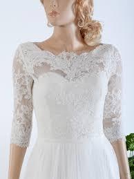 lace wedding dress with jacket bridal bolero lace wj021