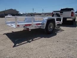 Utility Bed Trailer Custom All Aluminum Trailers Truck Bodies Boxes For Sale Alum Line